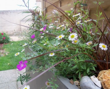 Jardinières sur votre terrasse